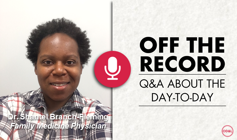 Off the Record with Dr. Shantel Branch-Fleming