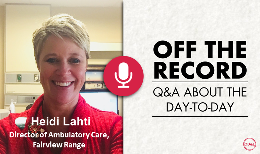 Off the Record with Heidi Lahti