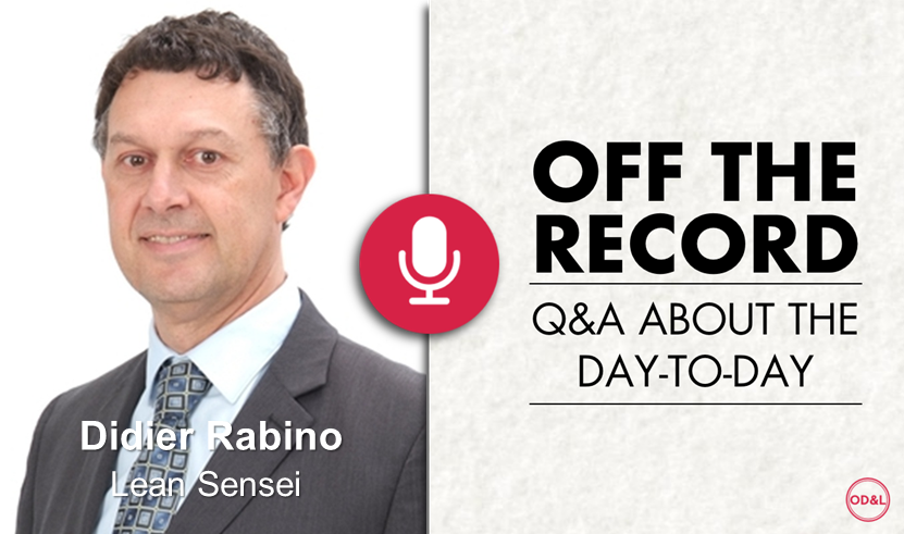 Off the Record with Didier Rabino