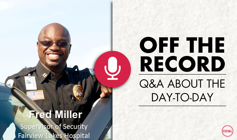 Off the Record with Fred Miller
