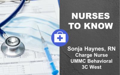 Nurses to Know with Sonja Haynes